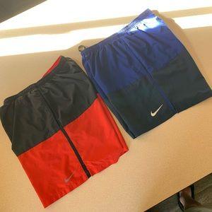 Nike flex shorts (lot)